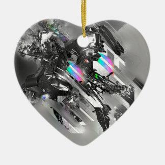Robótica fresca abstracta de la transformación adorno