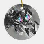 Robótica fresca abstracta de la transformación ornaments para arbol de navidad
