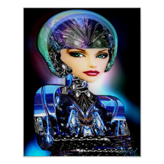 Robotica (impresión) póster