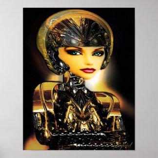 Robotica on Canvas Poster