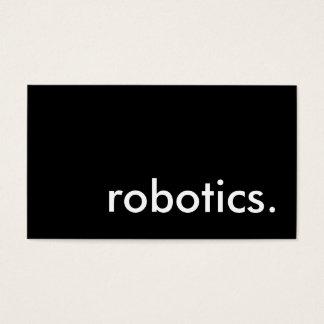 robotics. business card