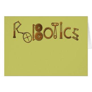 Robotics Card