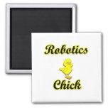 Robotics Chick Fridge Magnet
