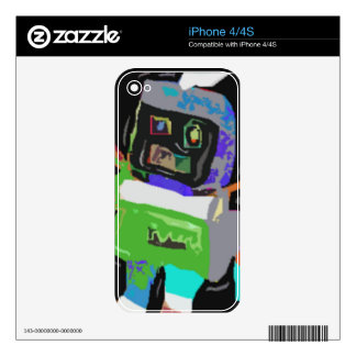Robotics Decals For The iPhone 4
