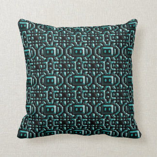 Robotics Electronics Pattern Throw Pillow