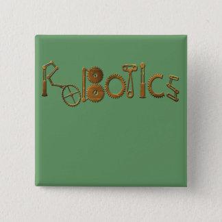Robotics Pinback Button