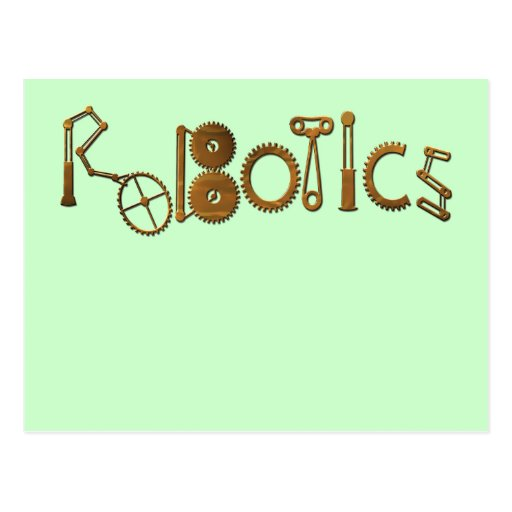 Robotics Postcard