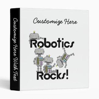 Robotics Rocks 3 Ring Binder