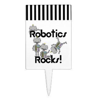Robotics Rocks Cake Topper