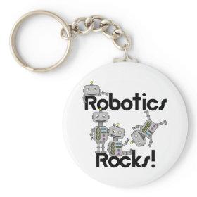 Robotics Rocks Keychain