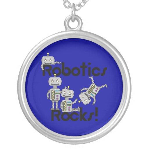 Robotics Rocks Pendants