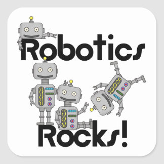 Robotics Rocks Square Sticker