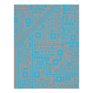 Robotika Circuit Board Customized Letterhead