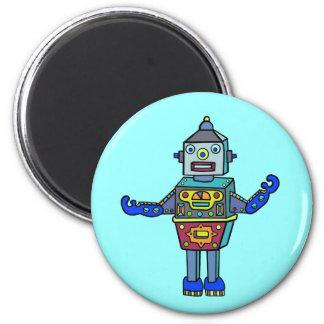 Robotman Fridge Magnet