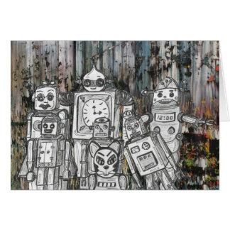 Robots 11 card