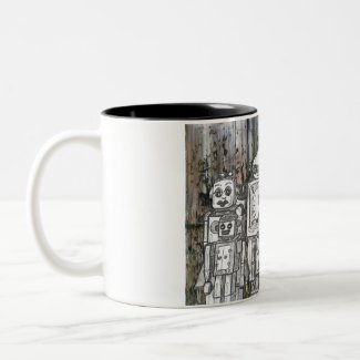 Robots 11 mug