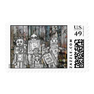 Robots 11 postage
