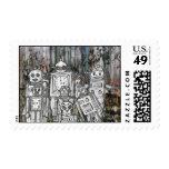 Robots 11 postage stamp