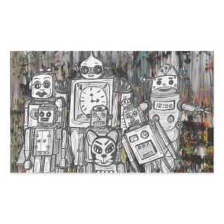 Robots 11 sticker