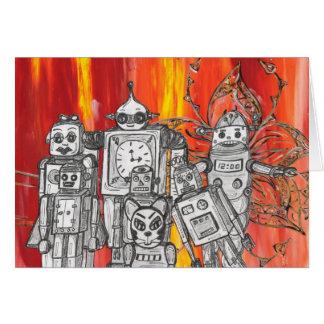 Robots 7 card