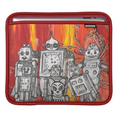 Robots 7 iPad Sleeve