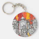 robots 7 Key ring Keychain