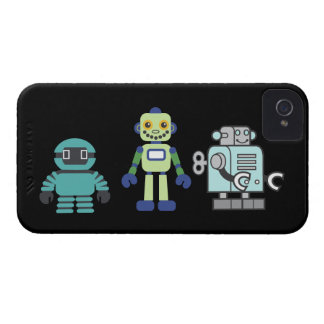 Robots & Androids iPhone 4 Case-Mate Case