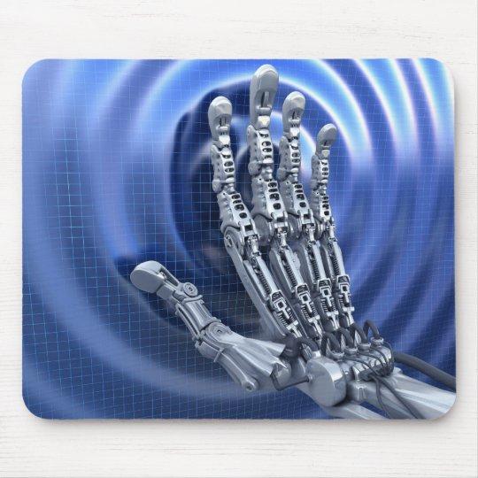 Robots arm mouse pad