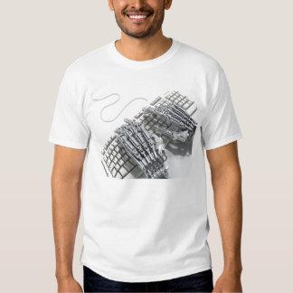 Robots arm tee shirt
