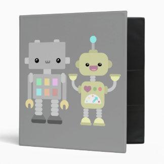 Robots At Play Binder