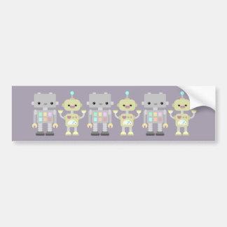 Robots At Play Bumper Sticker