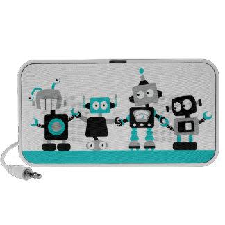 Robots - azul iPhone altavoz
