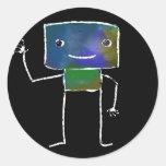 Robots cepillados - vol. 1: Lunabot Etiqueta