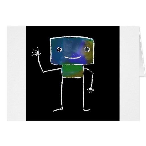 Robots cepillados - vol. 1: Lunabot Tarjetas