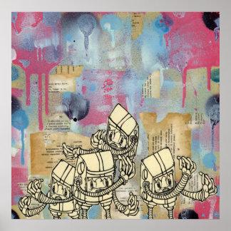 Robots de Akayo Posters