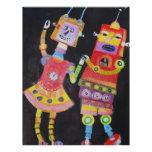 """Robots del baile folleto 8.5"""" x 11"""""""