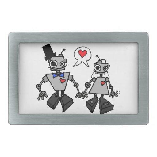 Robots del boda hebillas cinturón