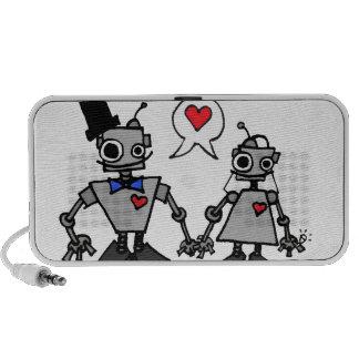 Robots del boda iPhone altavoz