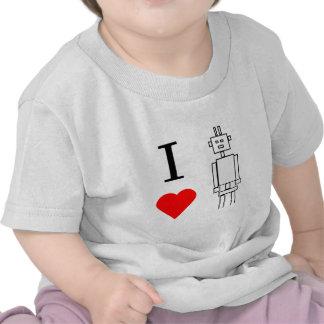 robots del corazón i camisetas