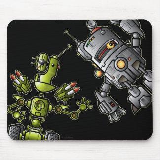 Robots del videojugador tapete de ratones