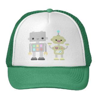 Robots en el juego gorras de camionero