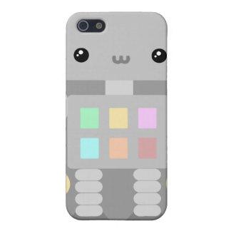Robots en el juego iPhone 5 fundas