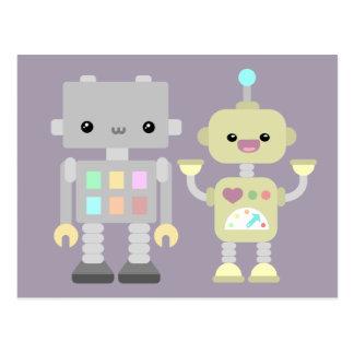 Robots en el juego postal