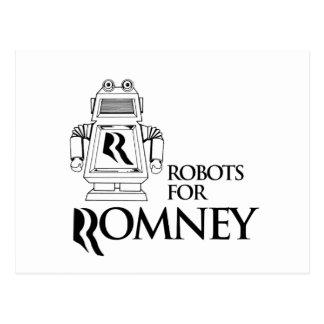 ROBOTS FOR ROMNEY.png Postcard
