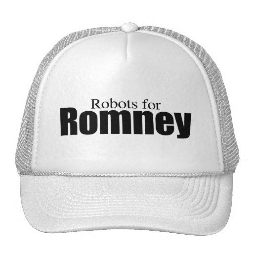 ROBOTS FOR ROMNEY.png Trucker Hat