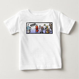 ROBOTS from DavesSketchbook Baby T-Shirt