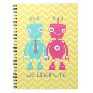 Robots in Love Notebook