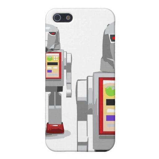 Robots iPhone 5 Cárcasas
