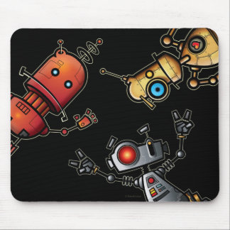Robots Mousepad de la diversión Tapetes De Ratones