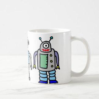 robots mug!